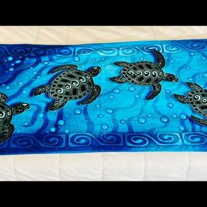 Uncle Jerry T's Turtle Beach Towel